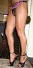 Бритые ножки кроссдрессера