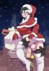 Транс снегурка в красной шубке