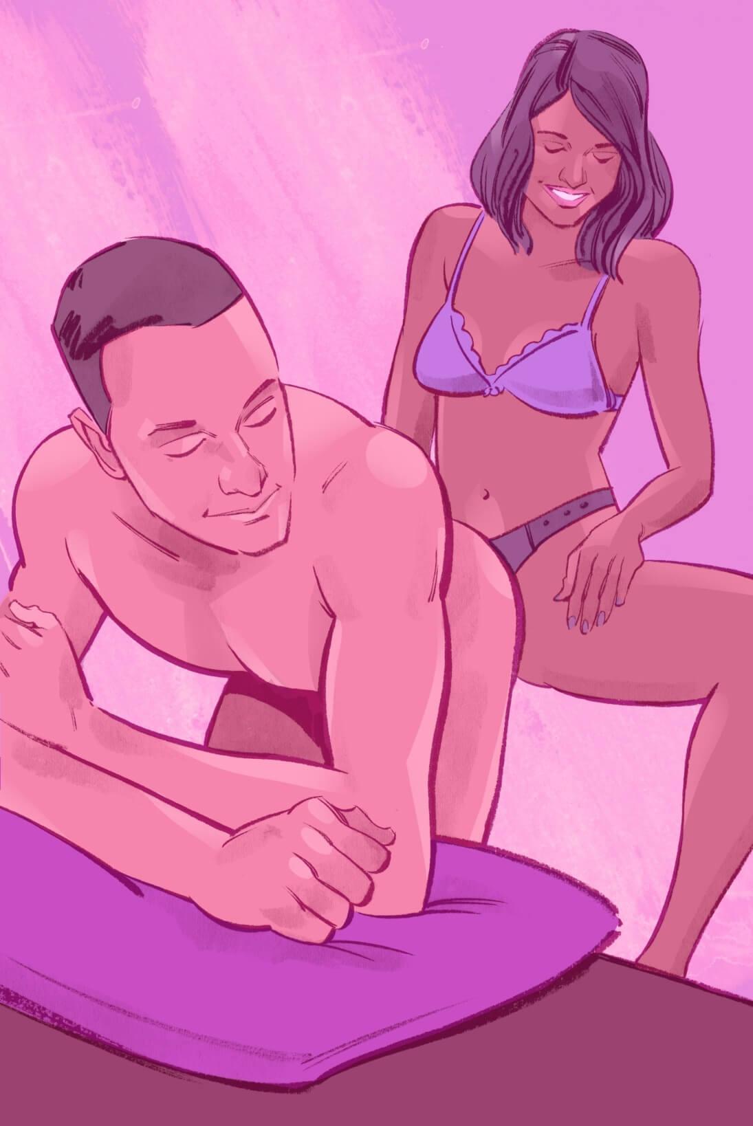 Перемена ролей в сексе и сексуальные позы при этом